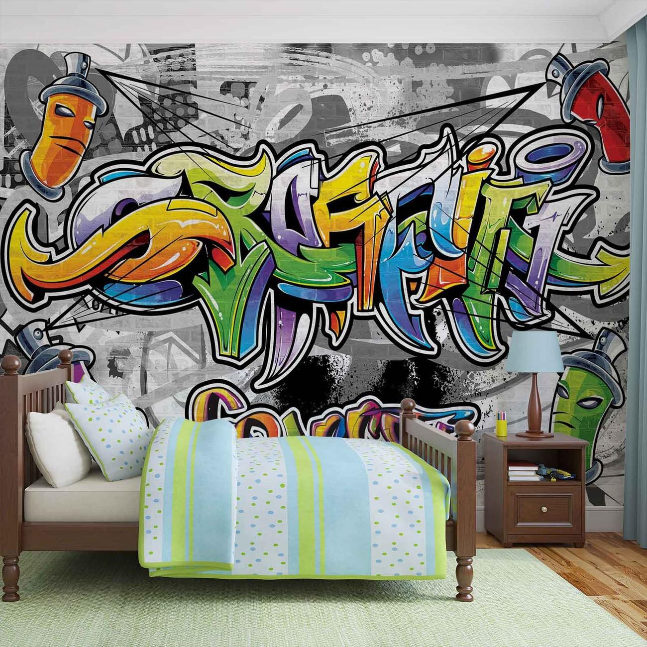 Street Art Wallpaper Murals Buy Online at EuroPosters
