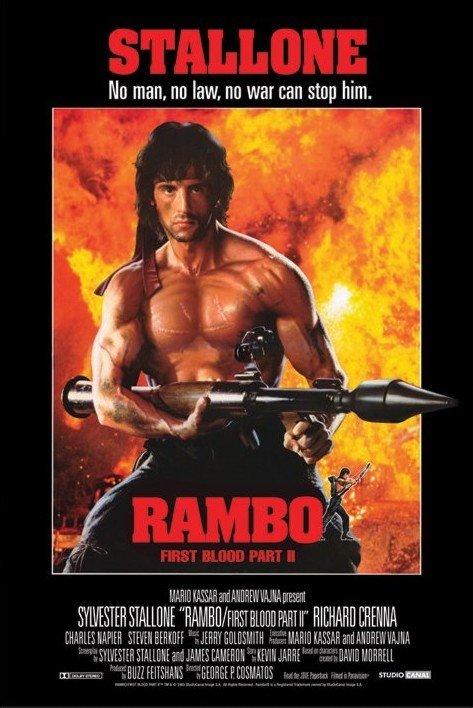 Rambo 2 Poster