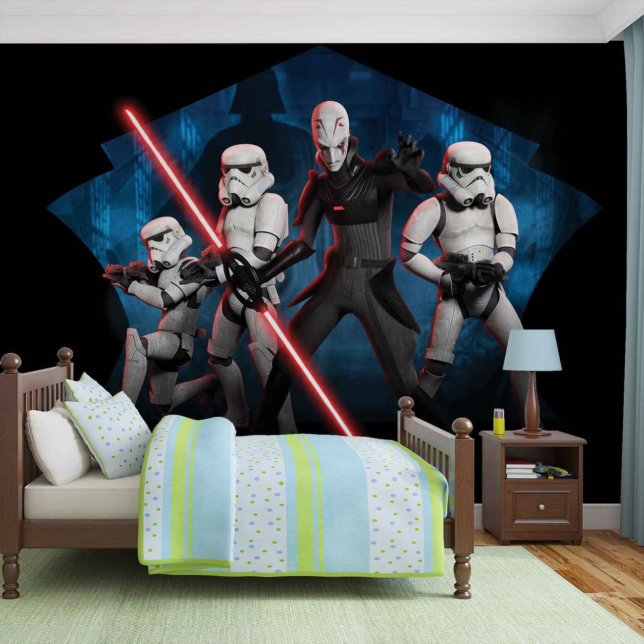 star wars rebels inquisitor sith wall paper mural buy at europosters. Black Bedroom Furniture Sets. Home Design Ideas