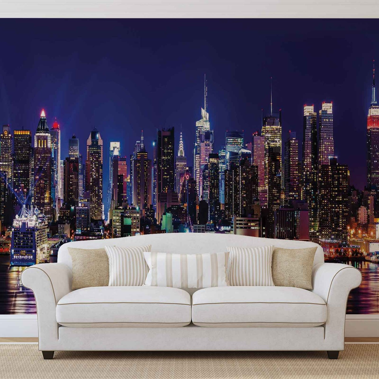 New york city wall paper mural buy at europosters for Poster mural new york