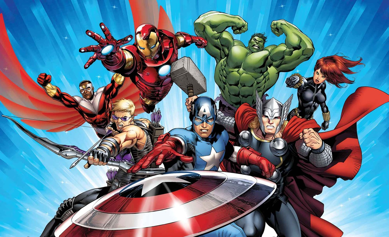 Wild Animal Wall Stickers Marvel Avengers Wall Paper Mural Buy At Europosters