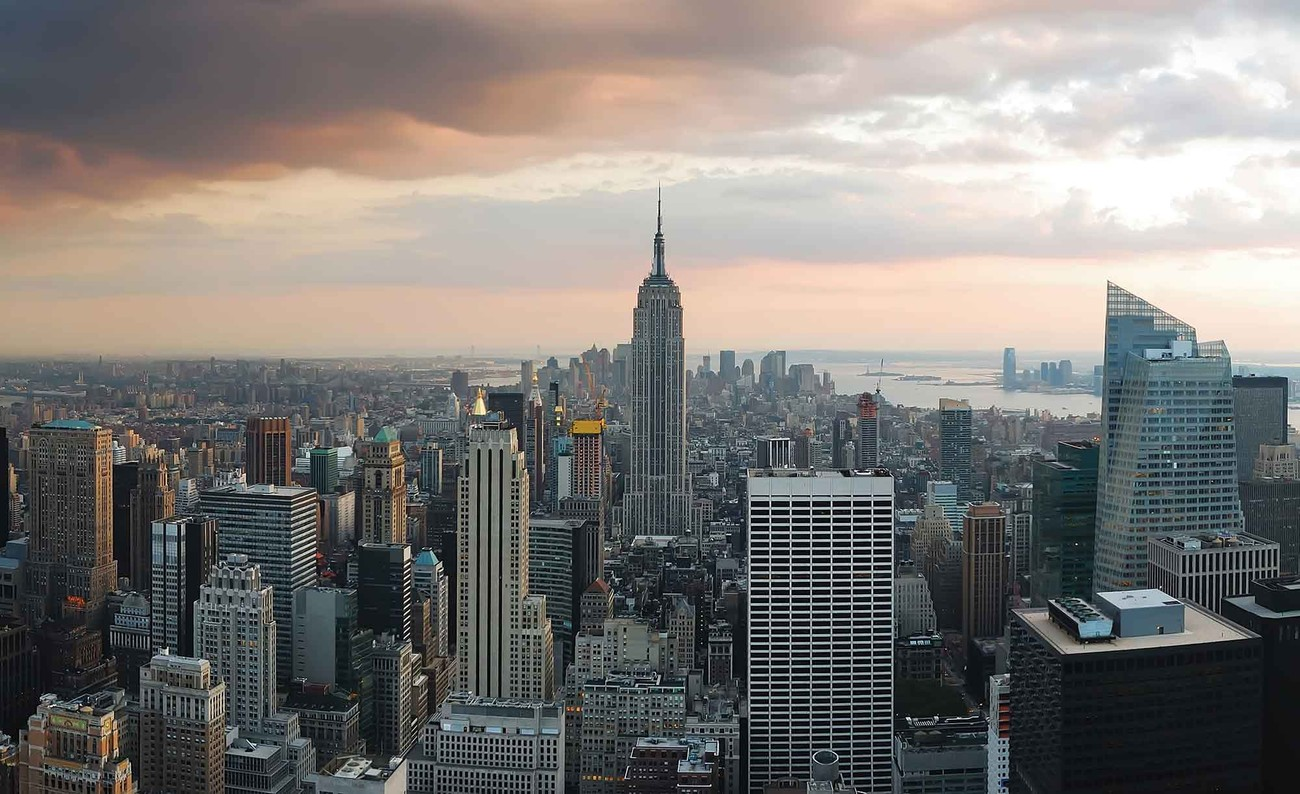 New york city empire state building wall paper mural buy for Poster mural geant new york