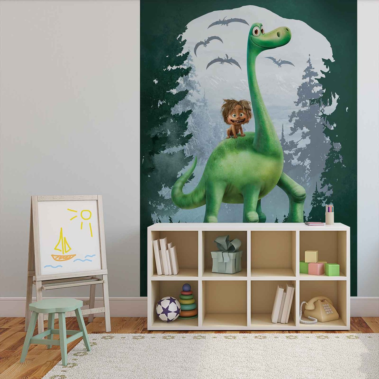 Disney the good dinosaur wall paper mural buy at europosters for Dinosaur wall mural uk