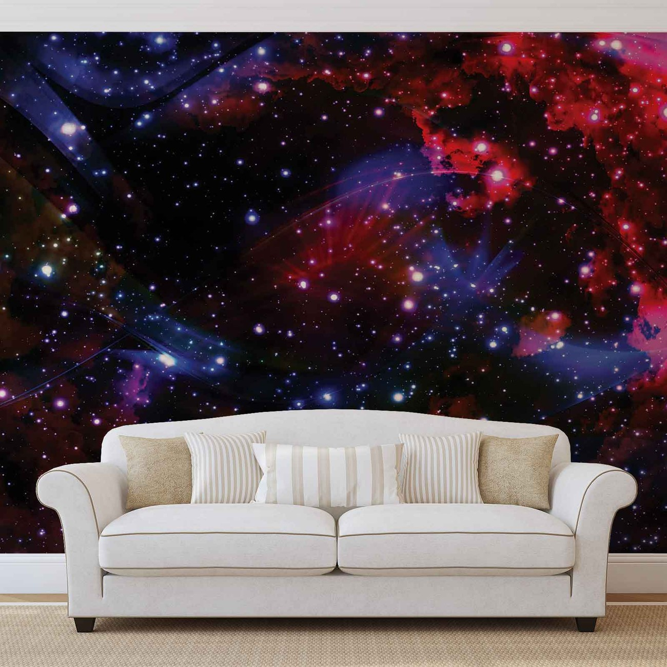 Universe wall murals wallpaper murals buy online at europosters space stars amipublicfo Choice Image