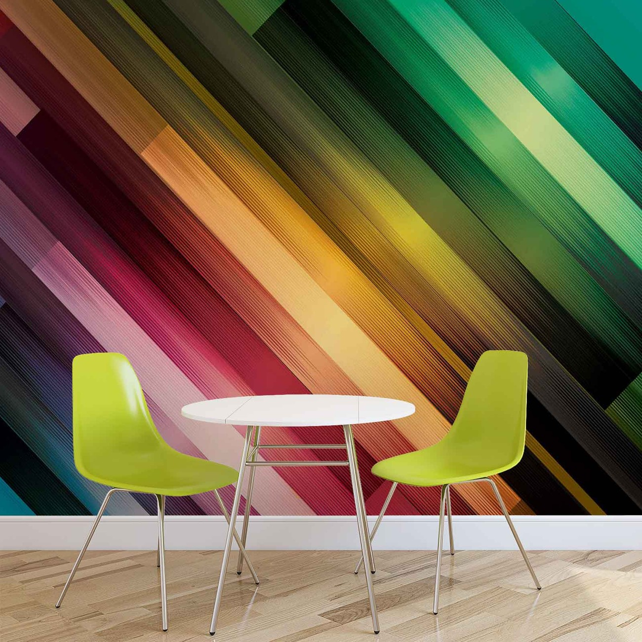 Abstract art wall paper mural buy at europosters for Abstract mural painting