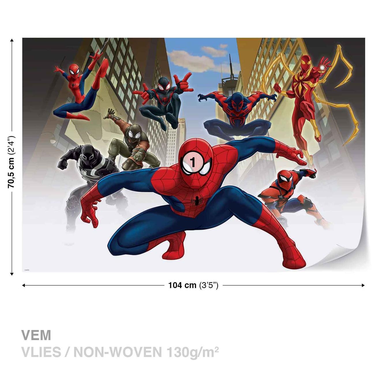 Spiderman marvel wall paper mural buy at - Poster mural spiderman ...
