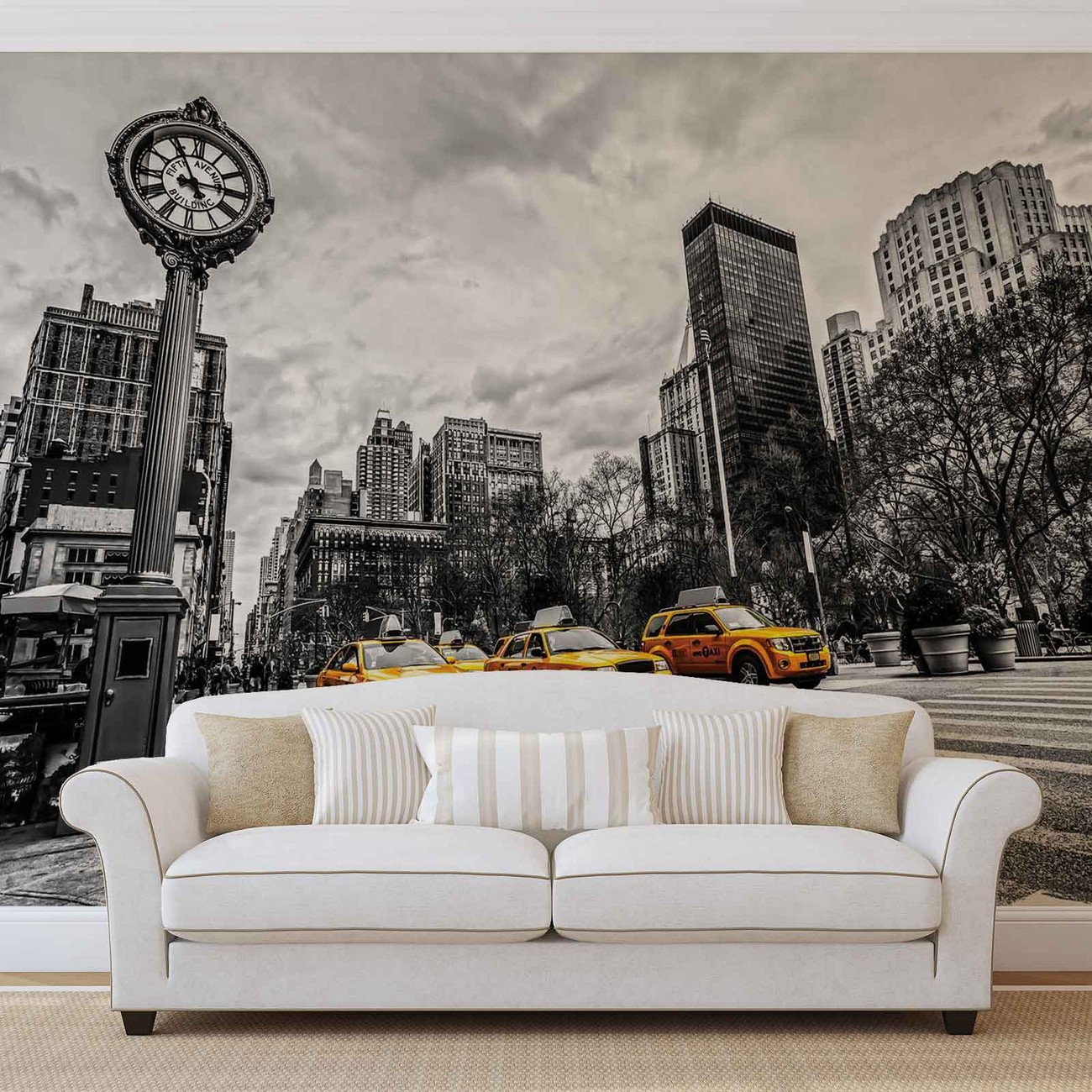 new york city cabs wall paper mural buy at europosters new york city cabs wallpaper mural facebook google pinterest price from