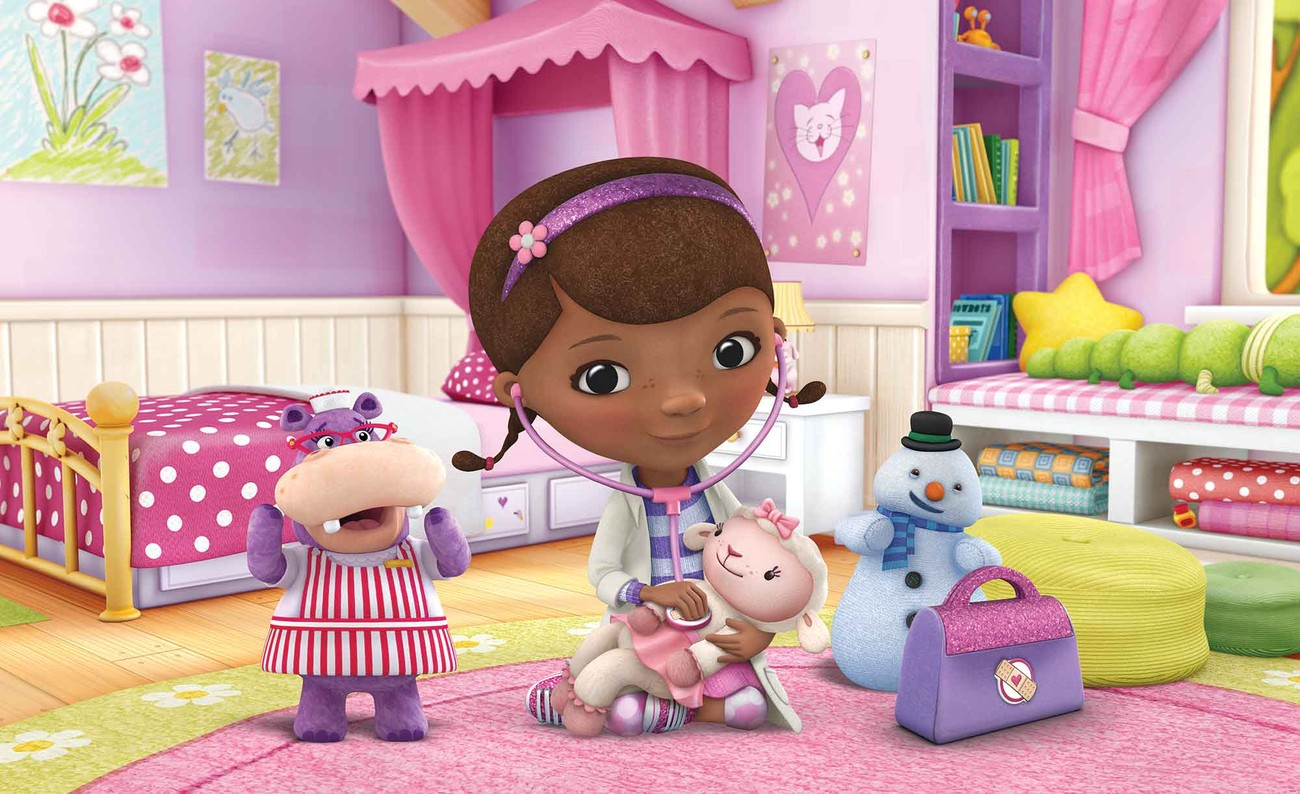 Wall Stickers Buy Disney Doc Mcstuffins Wall Paper Mural Buy At Europosters