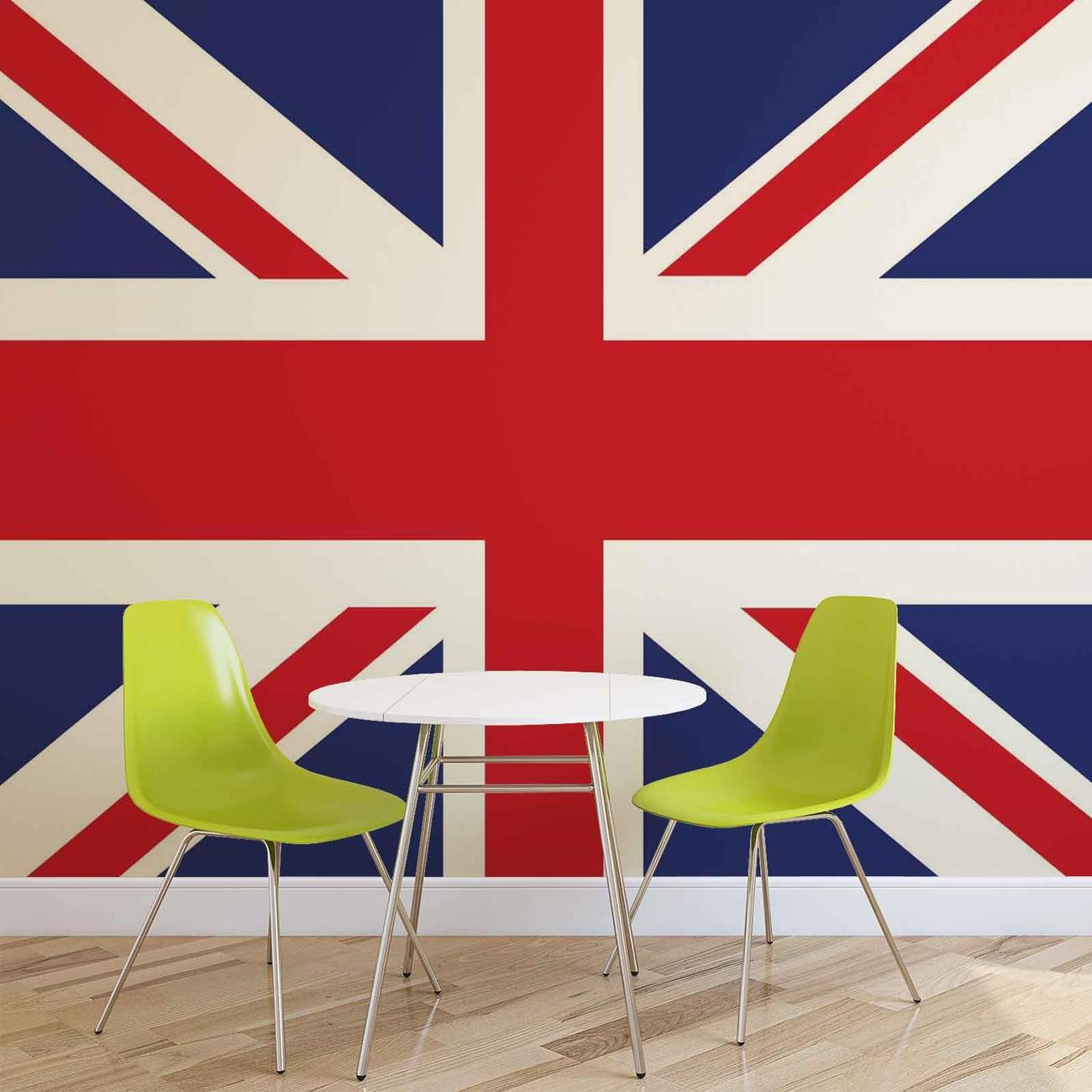 Flag Great Britain UK Wall Paper Mural | Buy at EuroPosters
