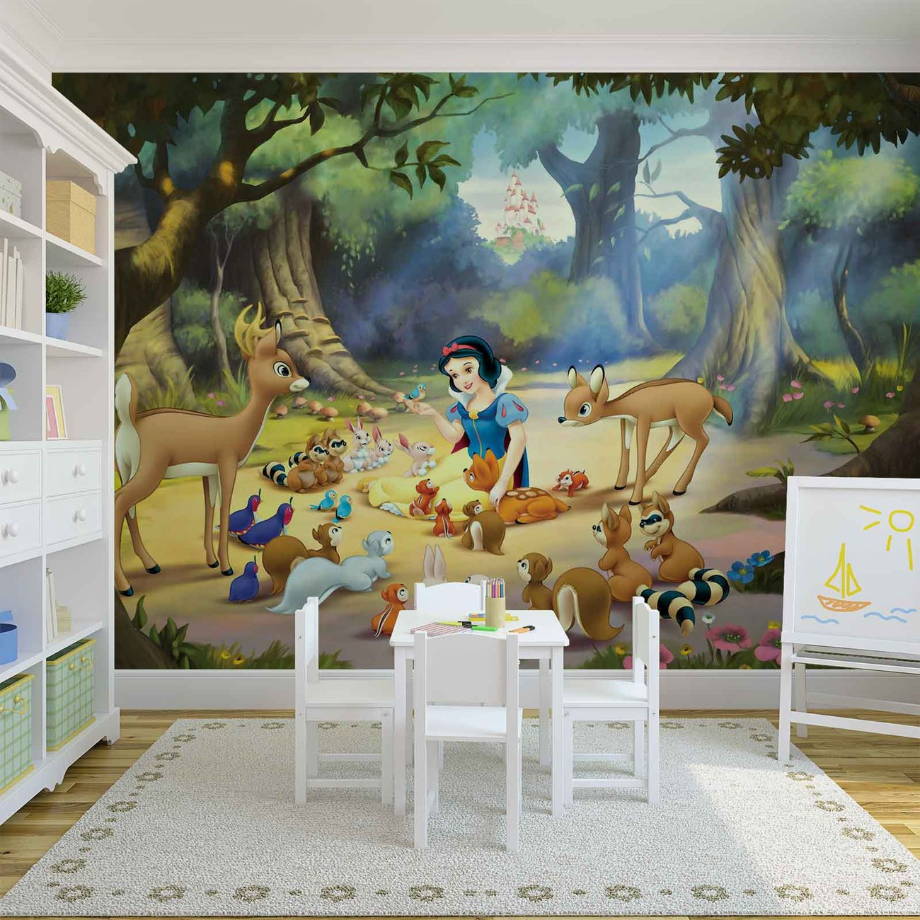 Disney princesses snow white wall paper mural buy at europosters price from amipublicfo Gallery