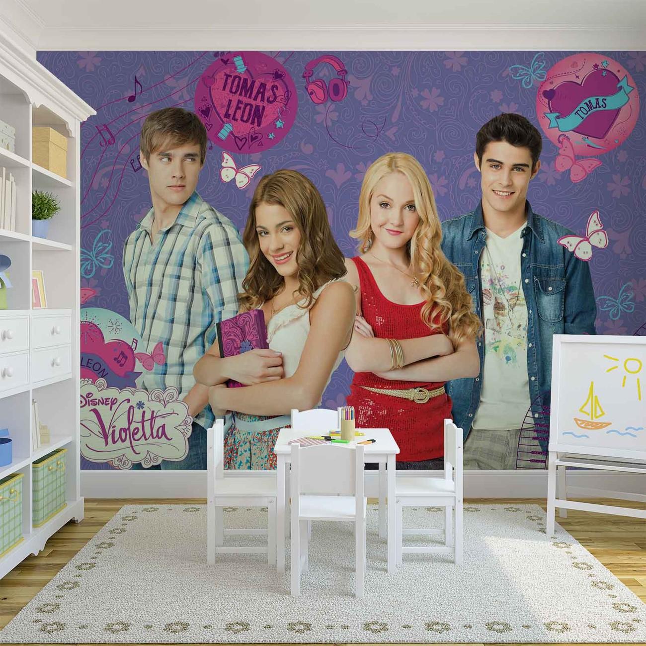 Sala De Estar Violetta ~ Murais de parede Disney Violetta em Europosterspt