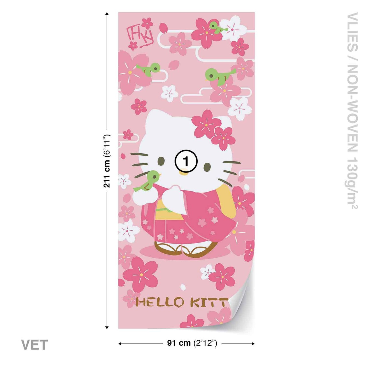 hello kitty wall mural for your home buy at europosters hello kitty wall paper mural buy at abposters com