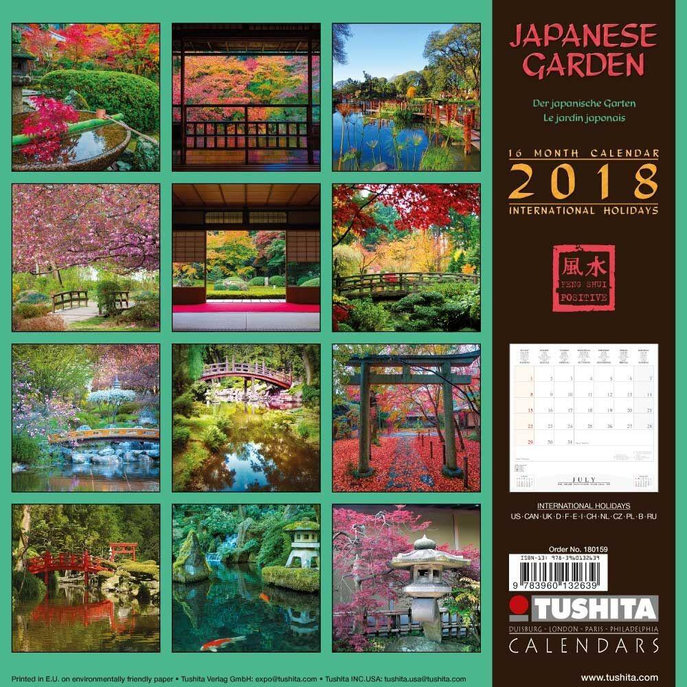 Secret Garden: Calendars 2018 On EuroPosters
