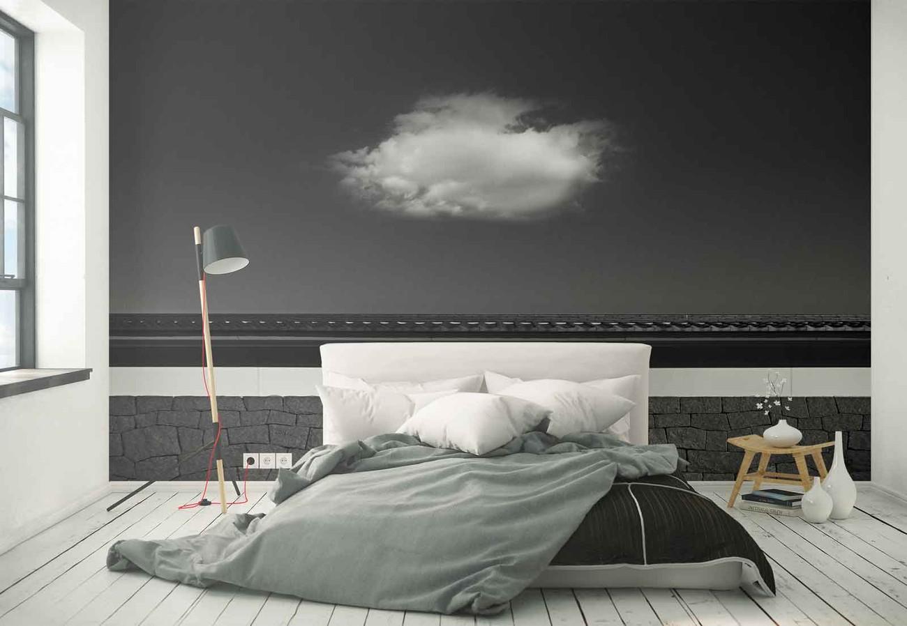 Cloud wall paper mural buy at for Cloud wall mural