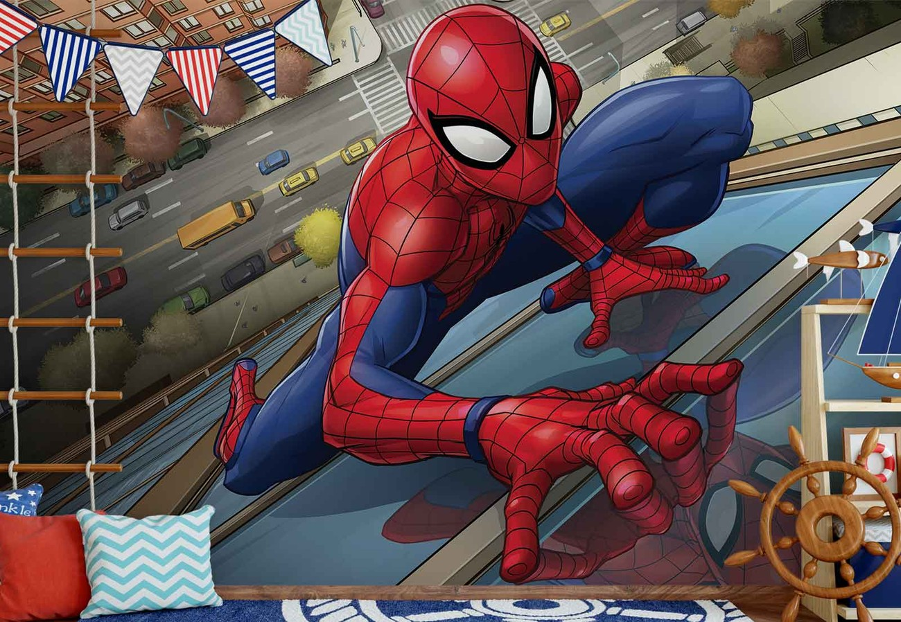 Marvel spiderman 10591 wall paper mural buy at europosters - Marvel spiderman comics pdf ...
