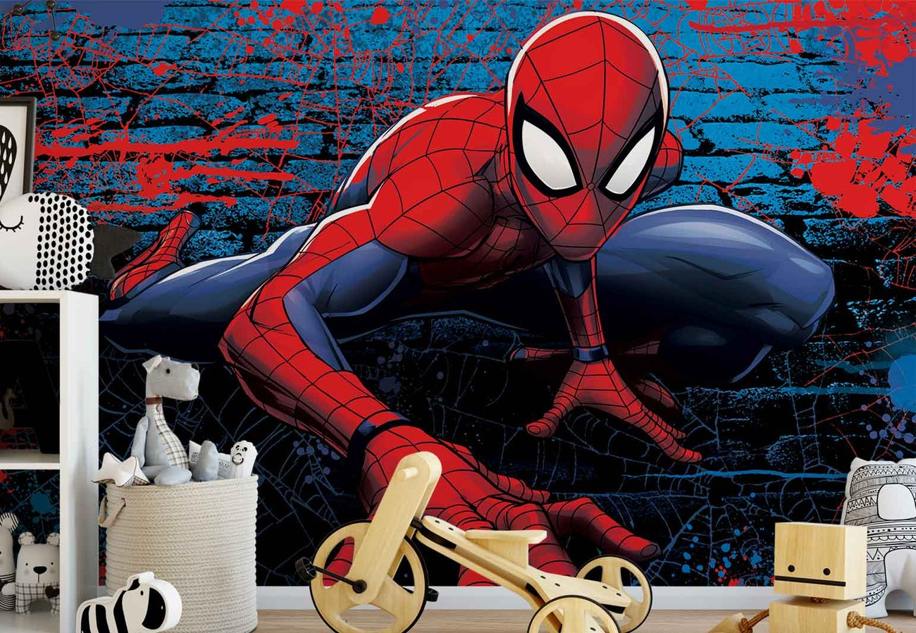 Marvel spiderman 10587 wall paper mural buy at europosters - Marvel spiderman comics pdf ...