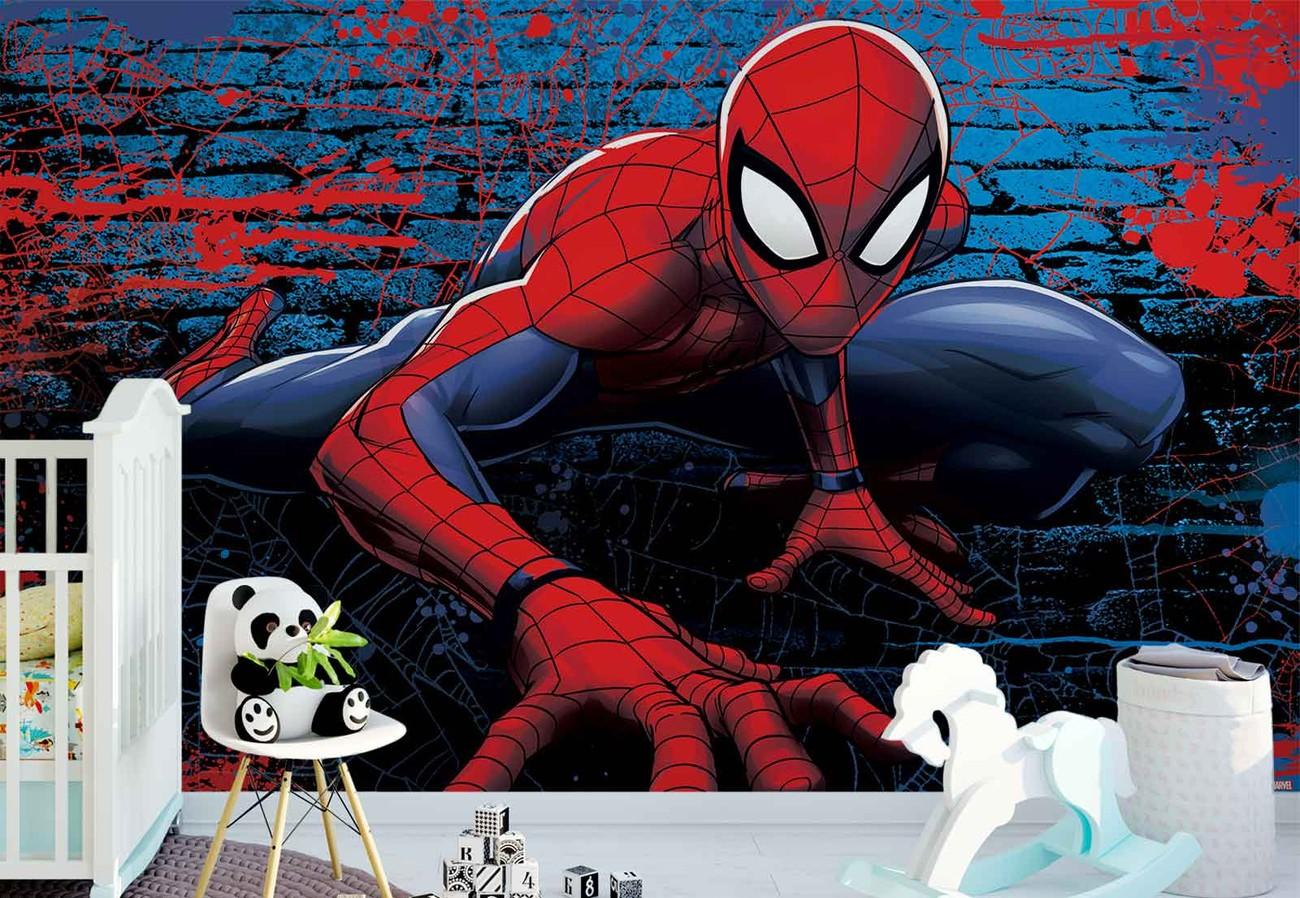 Marvel spiderman 10587 wall paper mural buy at europosters - Poster mural spiderman ...