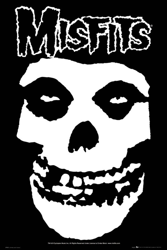 Misfits Skull Poster Sold At Europosters
