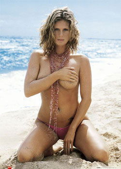 rachel hunter   beach poster sold at europosters