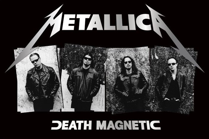 Metallica Death Magnetic Poster Sold At Europosters