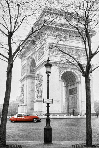 paris triumphal arch poster sold at. Black Bedroom Furniture Sets. Home Design Ideas