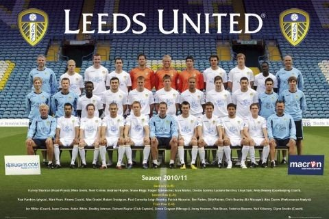 Leeds United Team Photo 10 11 Poster Sold At Europosters