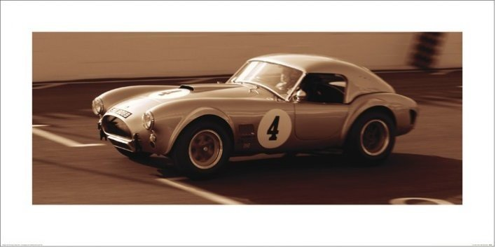 AC Cobra 1962 Reproduction d'art