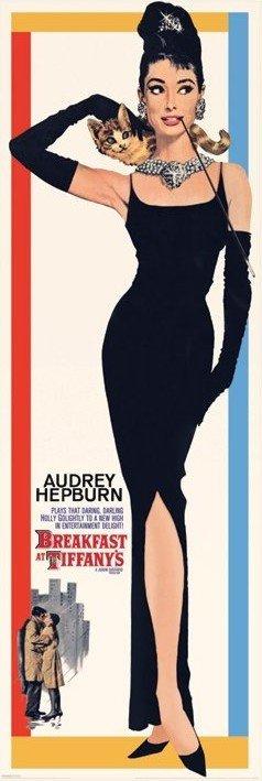 AUDREY HEPBURN - breakfast at tiffany's Affiche