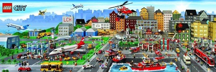 Lego city poster affiche acheter le sur - Image lego city ...