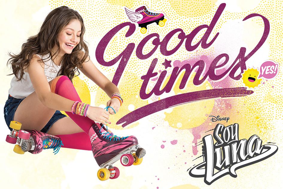 Soy luna good times poster affiche acheter le sur - Affiche multiplication ...