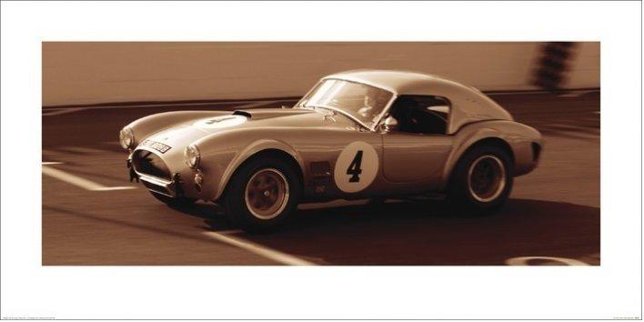 Impressão artística AC Cobra 1962