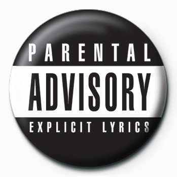 parental advisory badge button sold at abposters com
