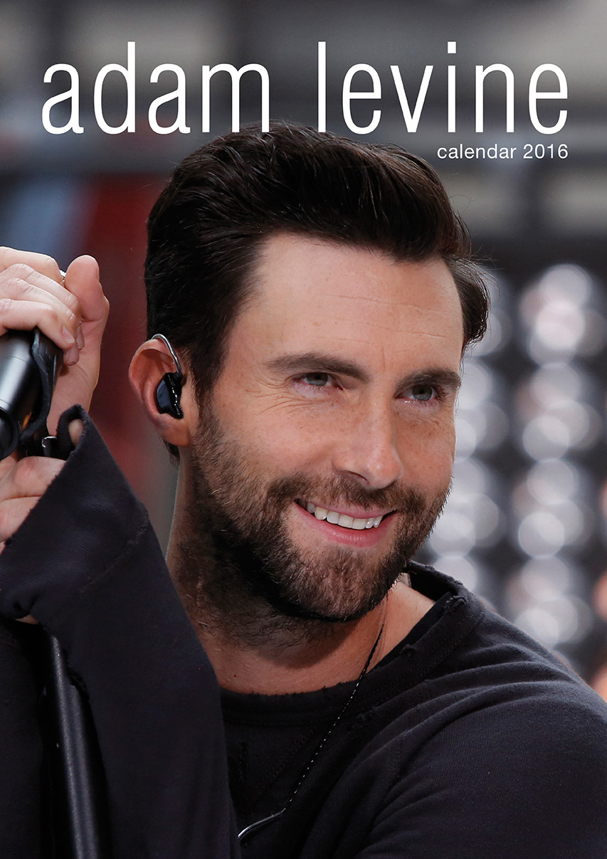 Adam levine maroon 5 calendars 2017 on europosters
