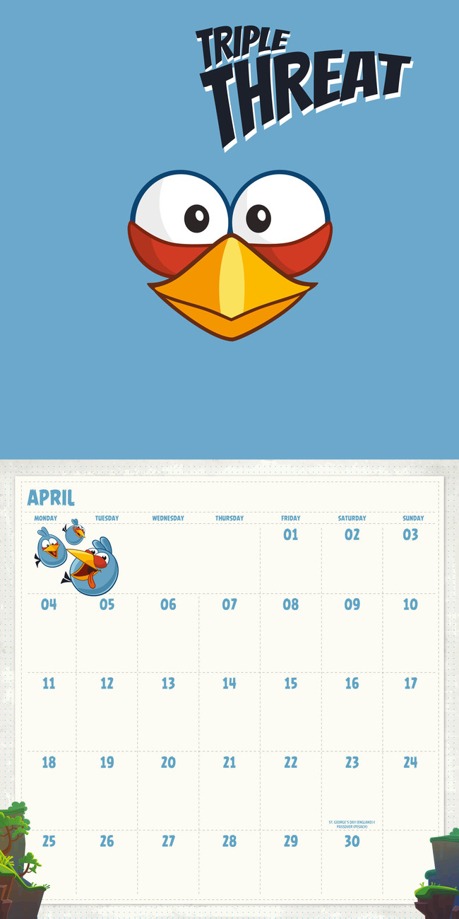 Angry Birds - Calendars 2019 on UKposters/EuroPosters