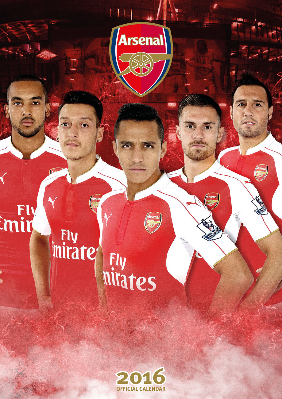Arsenal FC - Calendars 2020 on UKposters/Abposters.com
