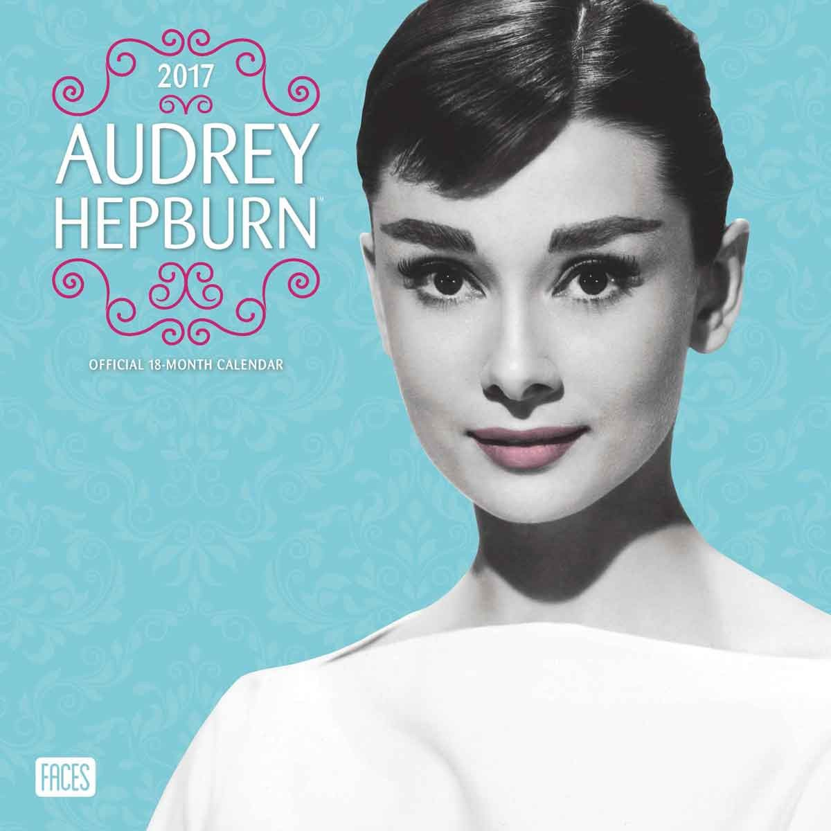 audrey hepburn calendars 2018 on europosters. Black Bedroom Furniture Sets. Home Design Ideas