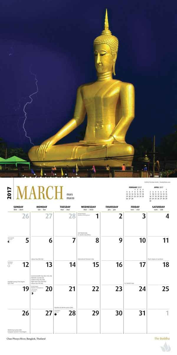 Buddhist Calendar 2020 Buddha   Calendars 2020 on UKposters/Abposters.com