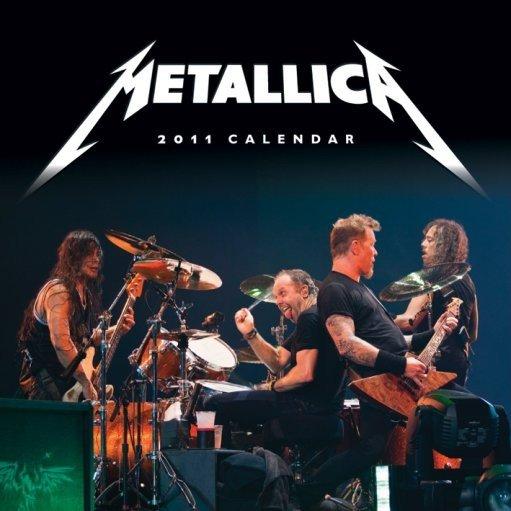Calendar 2011 - METALLICA - Calendars 2018 on Abposters.com