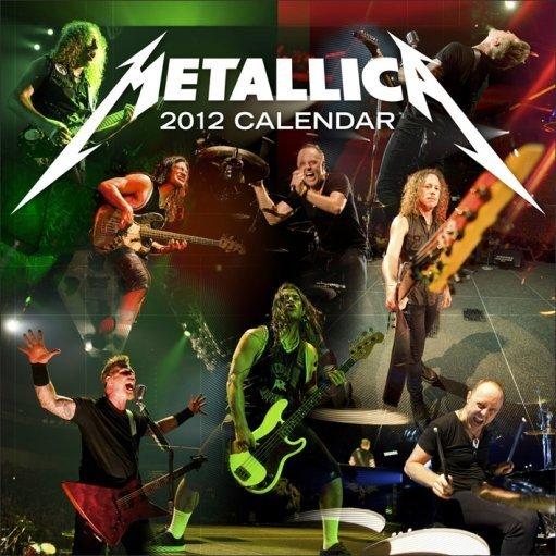 Calendar 2012 - METALLICA - Calendars 2018 on Abposters.com