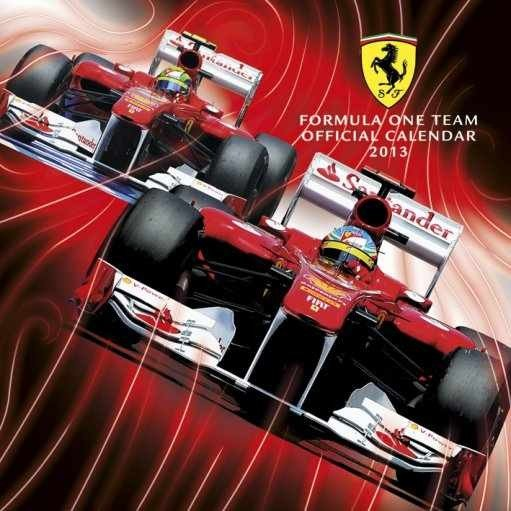 Calendar 2013 Ferrari F1 Calendars 2018 On Europosters