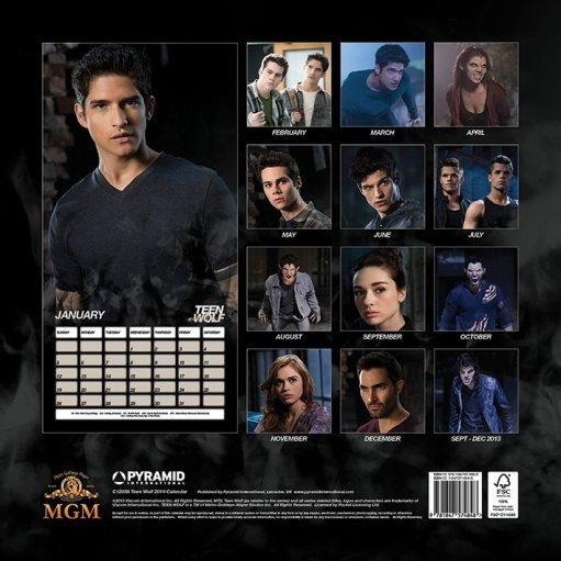 Teen Wolf 2020 Calendar Calendar 2014   TEENWOLF   Calendars 2020 on UKposters/Abposters.com