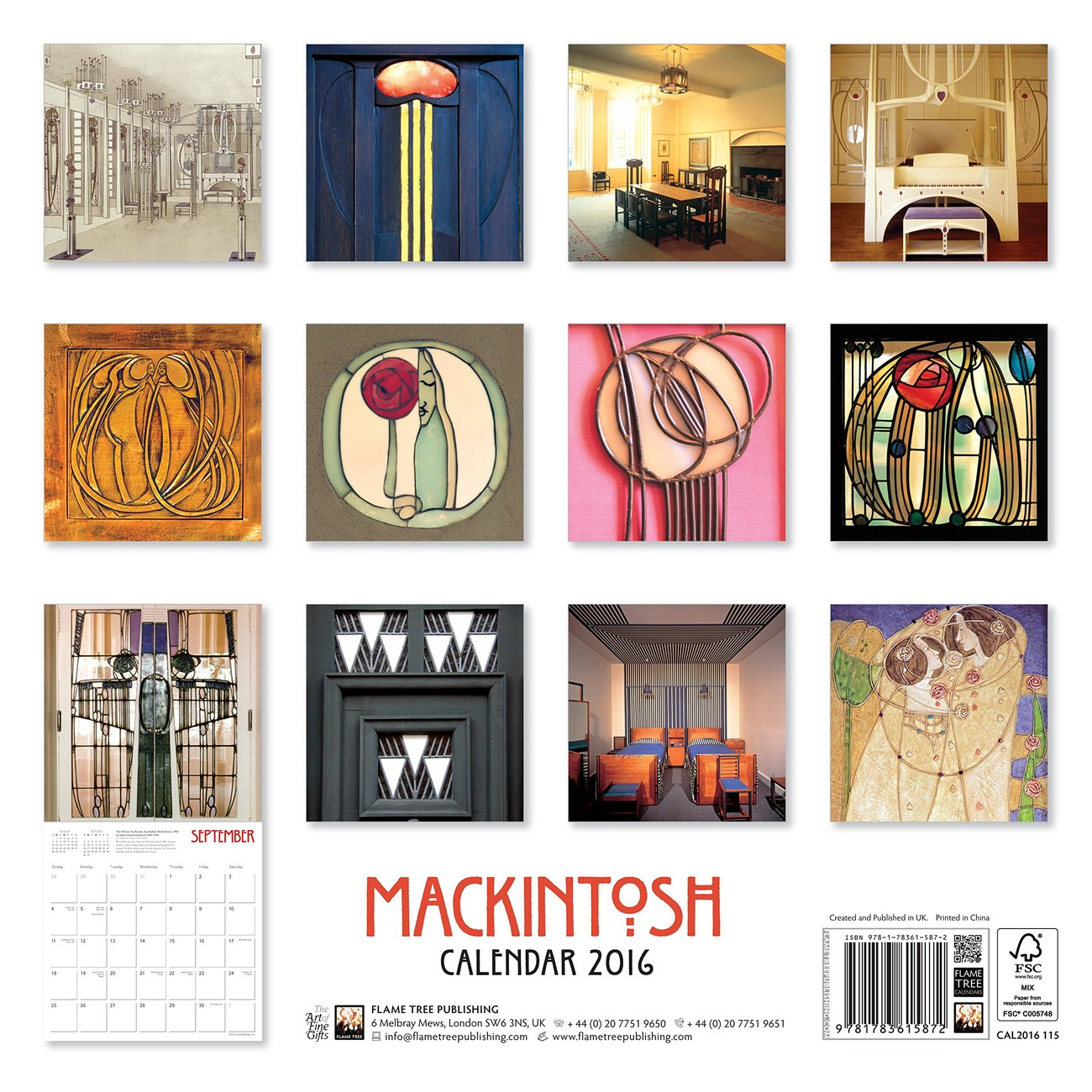60964d208c9 Charles Rennie Mackintosh - Calendars 2019 on UKposters EuroPosters