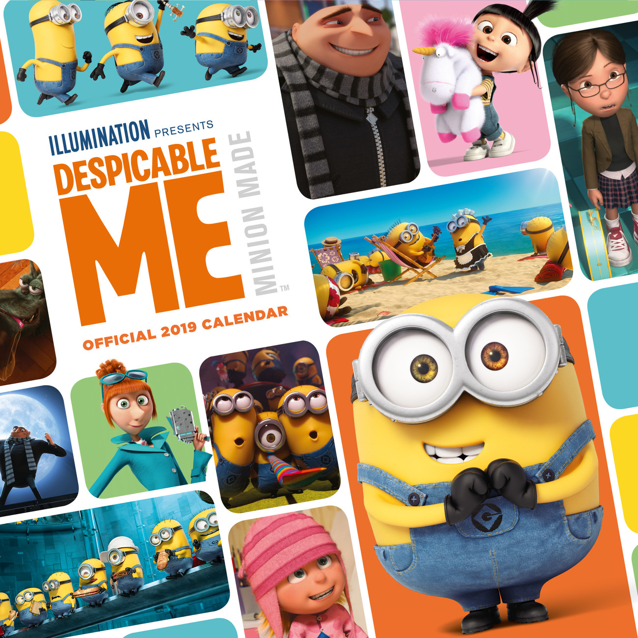 Despicable Me - Calendars 2020 on UKposters/EuroPosters