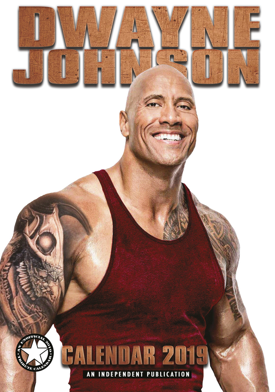 Dwayne Johnson Tattoo 2019: Calendars 2021 On UKposters/EuroPosters