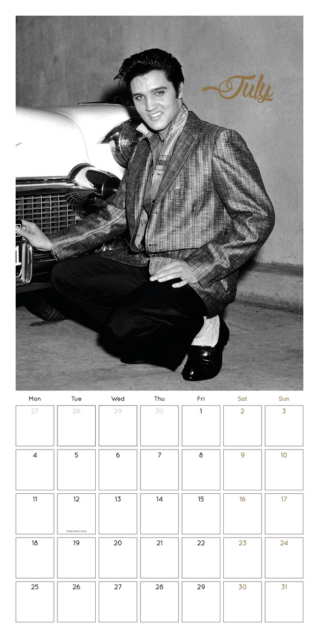 Elvis Presley - Calendars 2020 on UKposters/Abposters.com