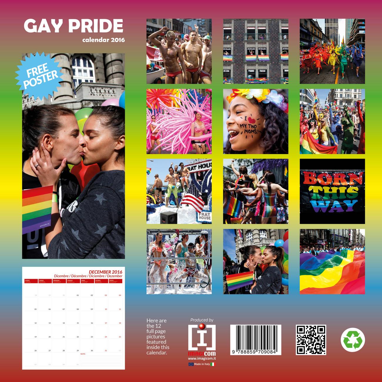 Gay Pride Calendar 2020 Gay Pride   Calendars 2020 on UKposters/Abposters.com