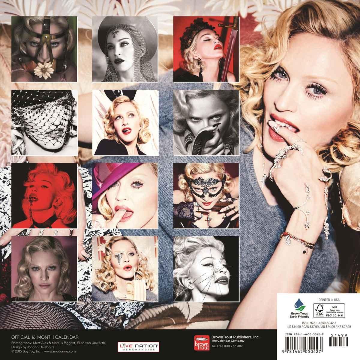 madonna naptár Madonna   Calendars 2019 on UKposters/EuroPosters madonna naptár