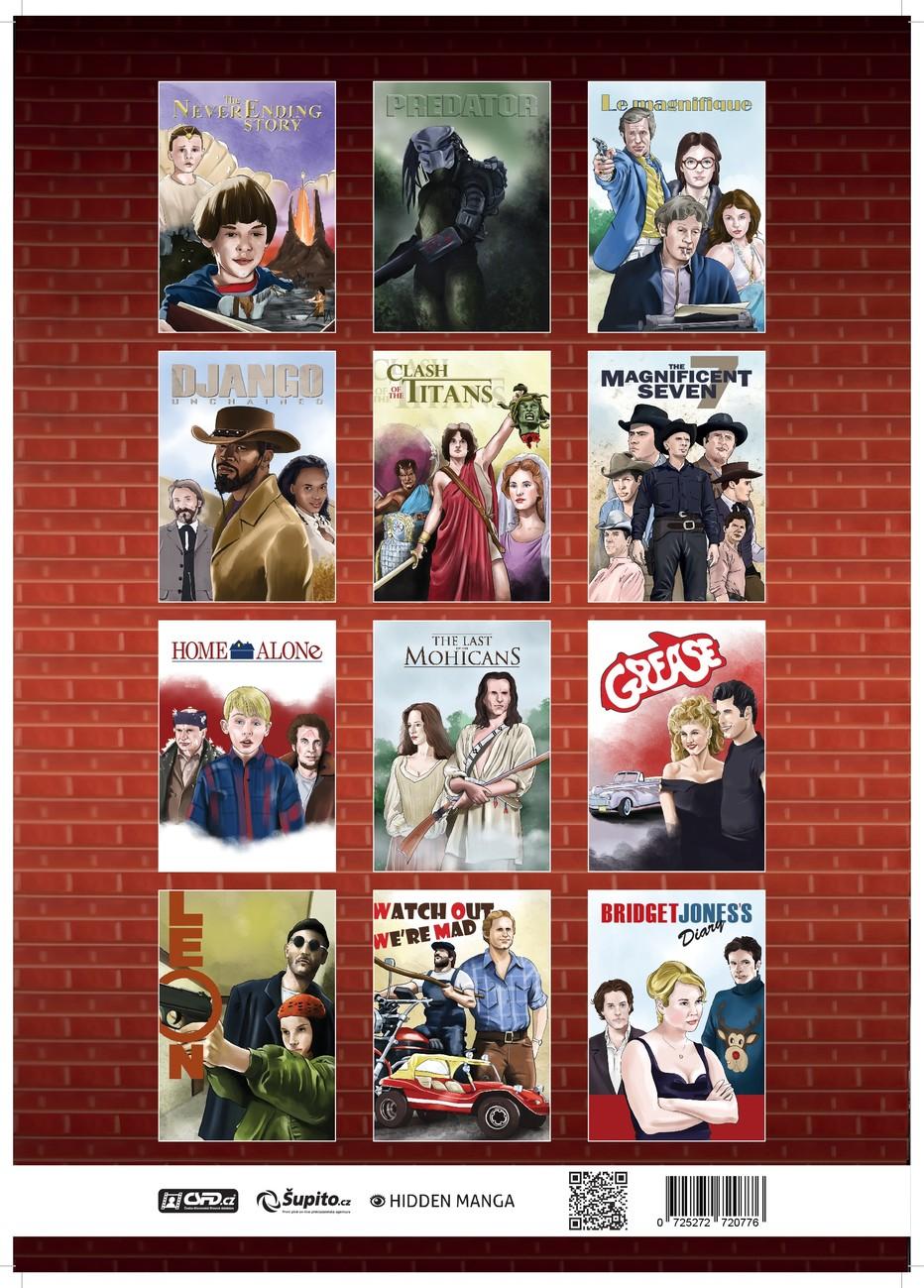 2019 Movie Calendar Movie Calendar 2019   A Tribute To Movie Classics   Calendars 2020