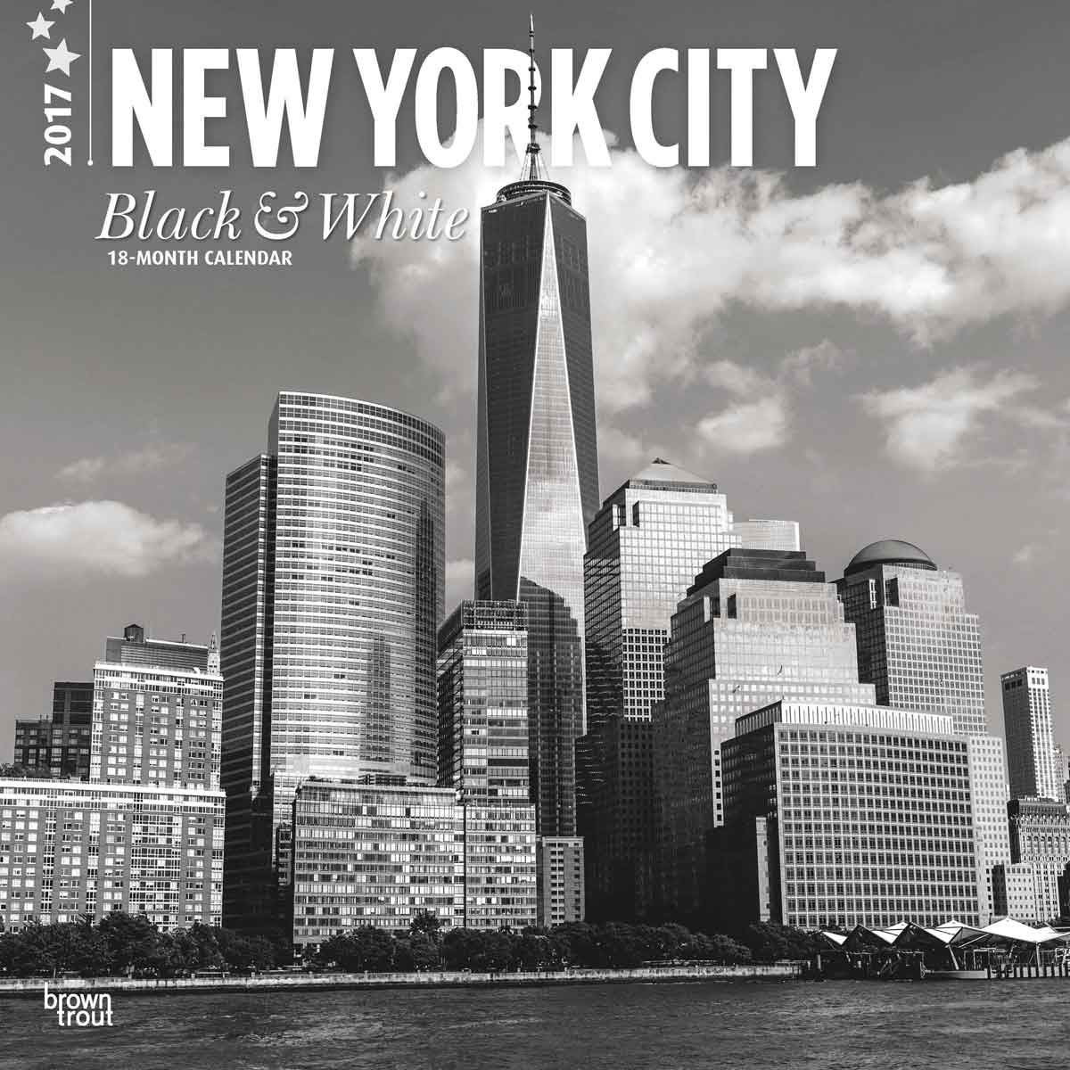 new york black white calendars 2019 on ukposters abposters com