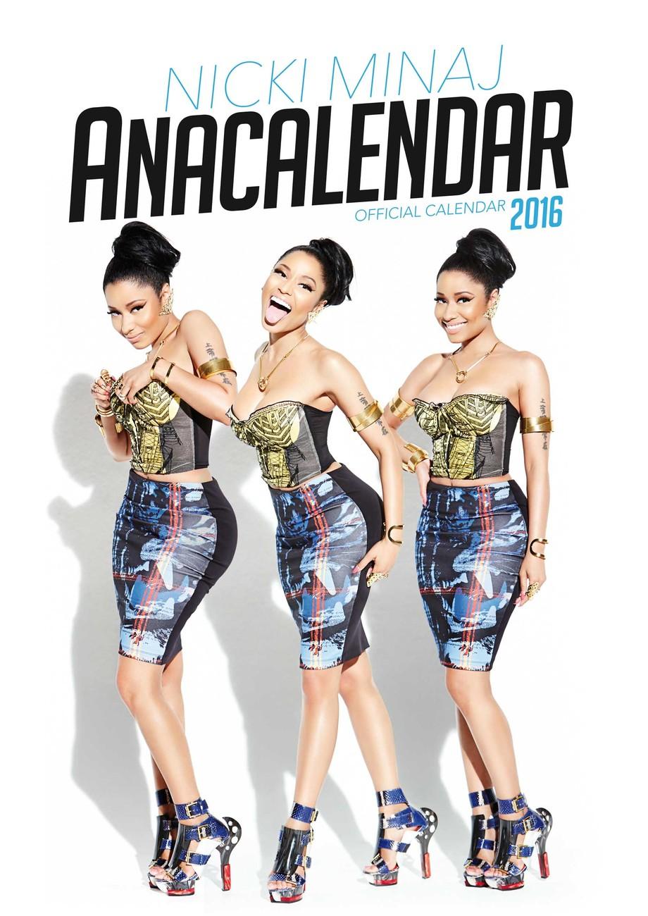 Nicki Minaj 2020 Calendar Buy Nicki Minaj   Calendars 2020 on UKposters/Abposters.com